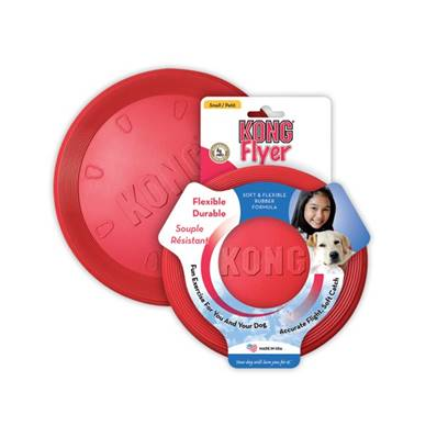 Kong frisbee rouge diam 24cm